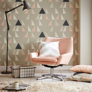 Scion-Lohko-Wallpaper-Modul-Geometric-grey-white-pink-black-plains-tens-upholstery-funky-living-room