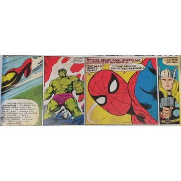 Marvel Comic Strip Border 90-042