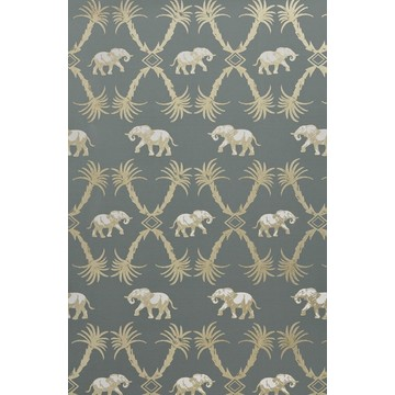 Elephant Palm Gunmetal/Gold BG2100201