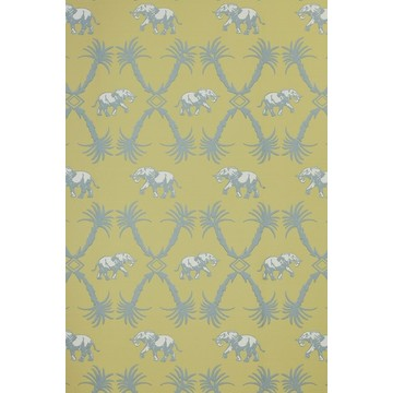 Elephant Palm Ochre/Blue BG2100202
