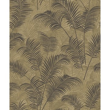 Tropical Leaves Yellow BL22761