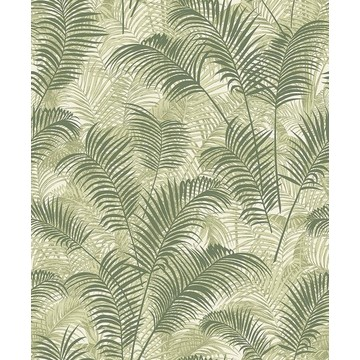Tropical Leaves Green BL22763