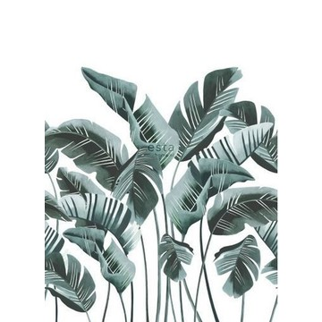 Banana Leaves Teal 158898 (paneeli)