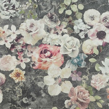 Marble Rose Charcoal J8004-01