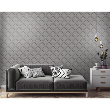 90593 Lana geo grey Roomshot p