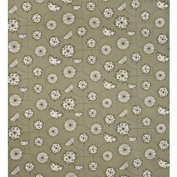 Dandelion Mobile French Grey with White FABR1004