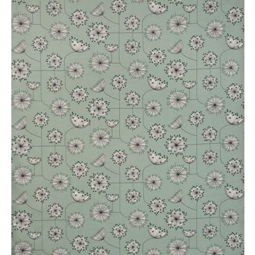 Dandelion Mobile Mist Green with White FABR1002