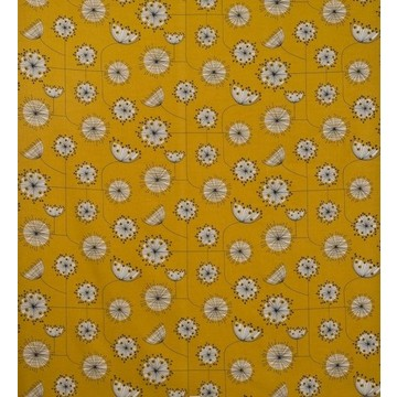 Dandelion-Mobile-Sunflower-Yellow-Fabric amb