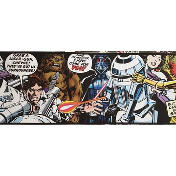 Star Wars Cartoon Border 90-063