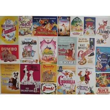 Disney Vintage Girls Wall Mural 70-590