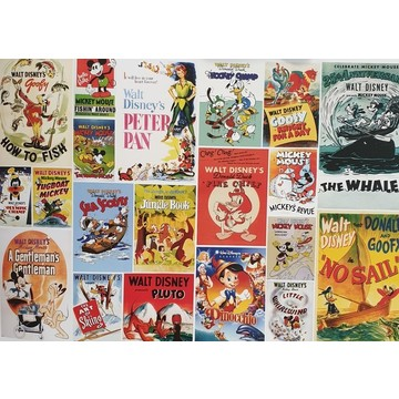Disney Vintage Boys Wall Mural 70-589