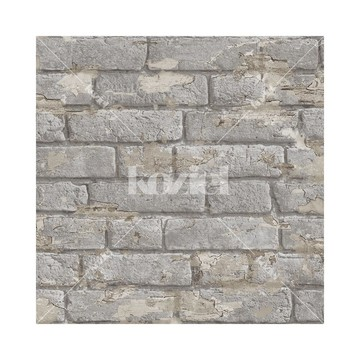 Antique painted bricks - Gray 8888-48