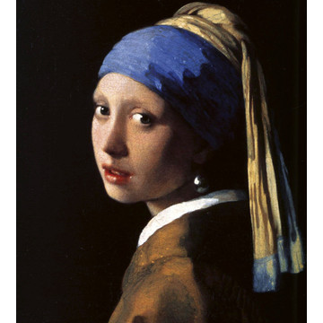 Girl with a Pearl Earring - Johannes Vermeer MS-3-0254