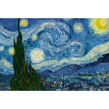 The Starry Night - Vincent Van Gogh MS-5-0250