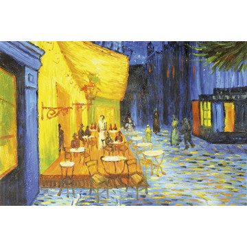 Cafe Terrace - Vincent Van Gogh MS-5-0251