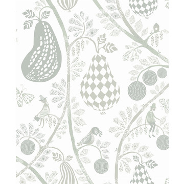 Fruit Garden White/Green 1484