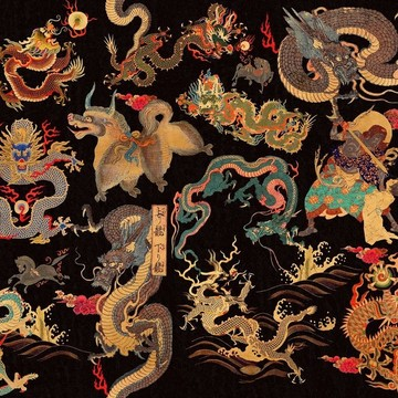 Dragons of Tibet WP20425