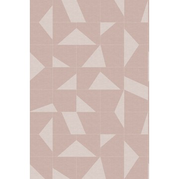 Natural Fabrics Tiles Rose Pink 351-357 231 (paneeli)