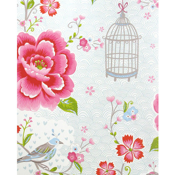 Birds in Paradise Ecru/White 300161 (313012)