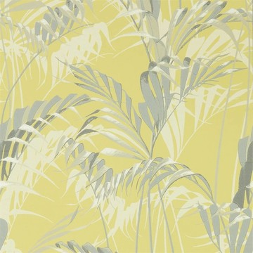 Palm House Chartreuse/Grey 216642