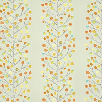 Berry Tree Neutral/Tangerine/Powder Blue/Lemon 112267