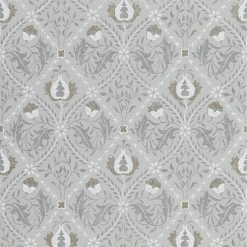 Pure Trellis Lightish Grey 216528