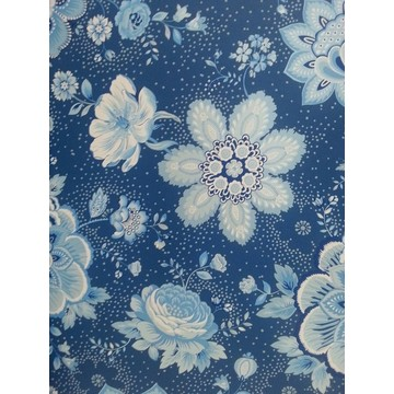 Folklore Chintz Dark Blue 341013