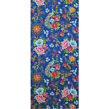 Flowers in the Mix Dark Blue 313054