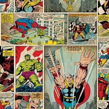 Marvel Comic Strip 70-264