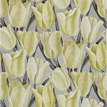 Early Tulips Silver/Yellow DVIWEA106