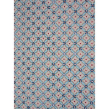 Geometric Light Blue 341021