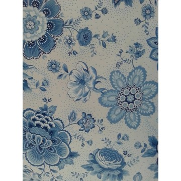 Folklore Chintz Light Blue 341012
