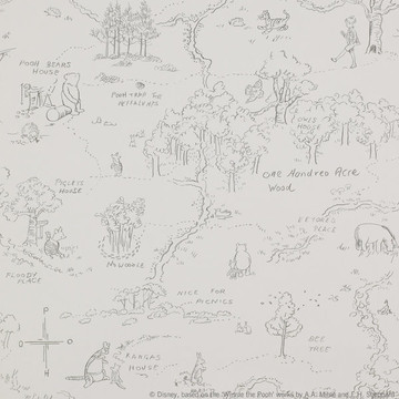 One Hundred Acre Wood Map J129W-04