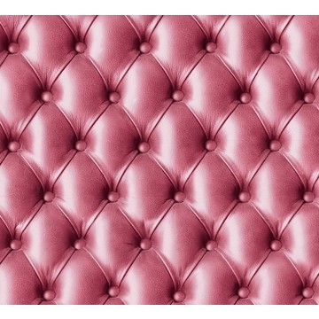 Pink tufted leather 8888-07