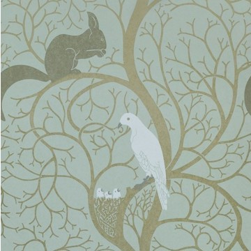 Squirrel & Dove Eggshell/Ivory DVIWSQ103