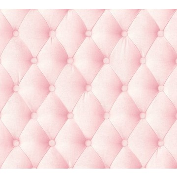 Pink linen tufted fabric 8888-506