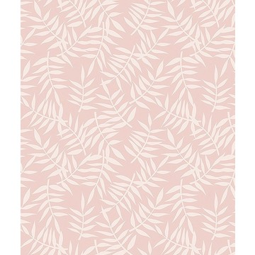 Tropical Leaves Pink H0439