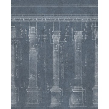 Colonnade Blue WP20023