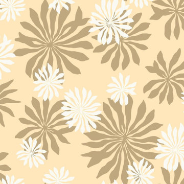 Fleur Cream with Gold MISP1017