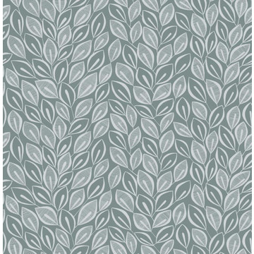 Leaves Graphite with Silver  MISP1029