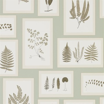 Fern Gallery Blue/Sepia 215715