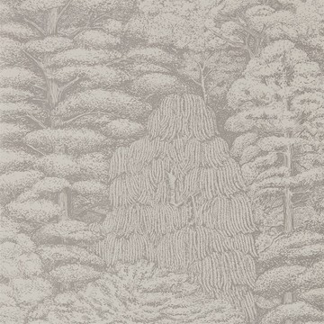 Woodland Toile Linen/Gilver 215718
